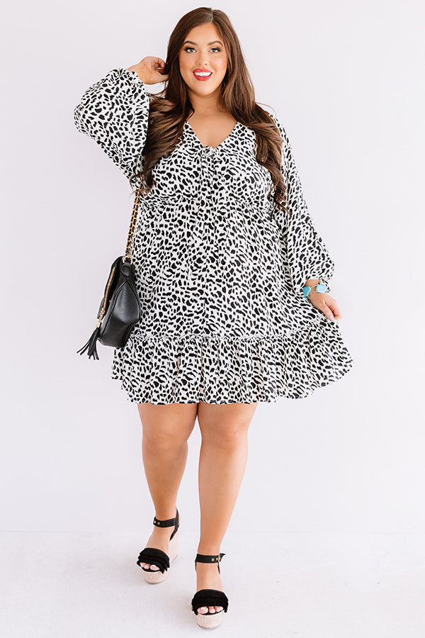 Cabana Happy Hour Leopard Shift Dress
