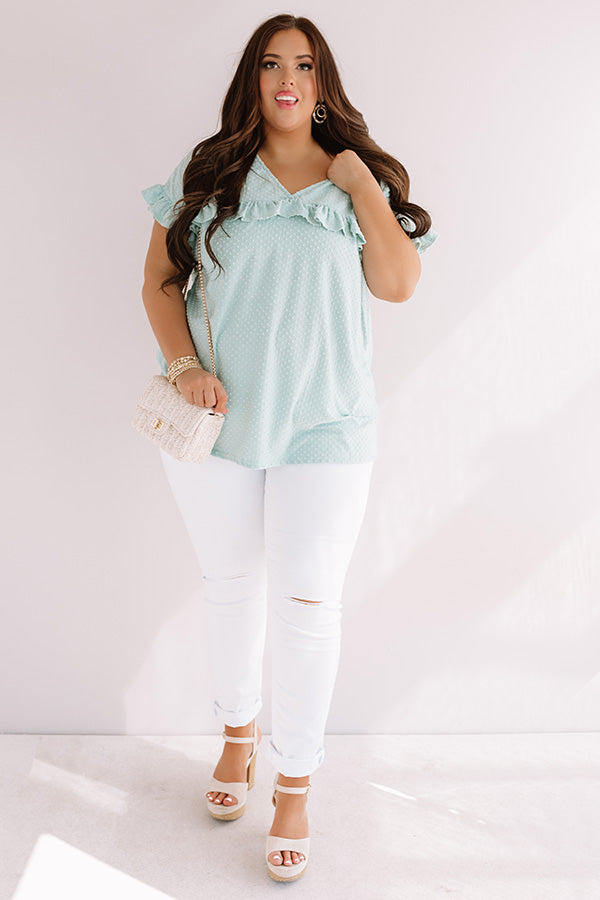 Sippin' In St. Thomas Shift Top In Limpet Shell