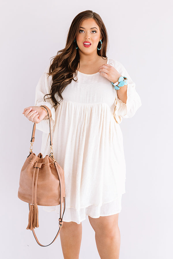 Sand And Sippin' Babydoll Dress