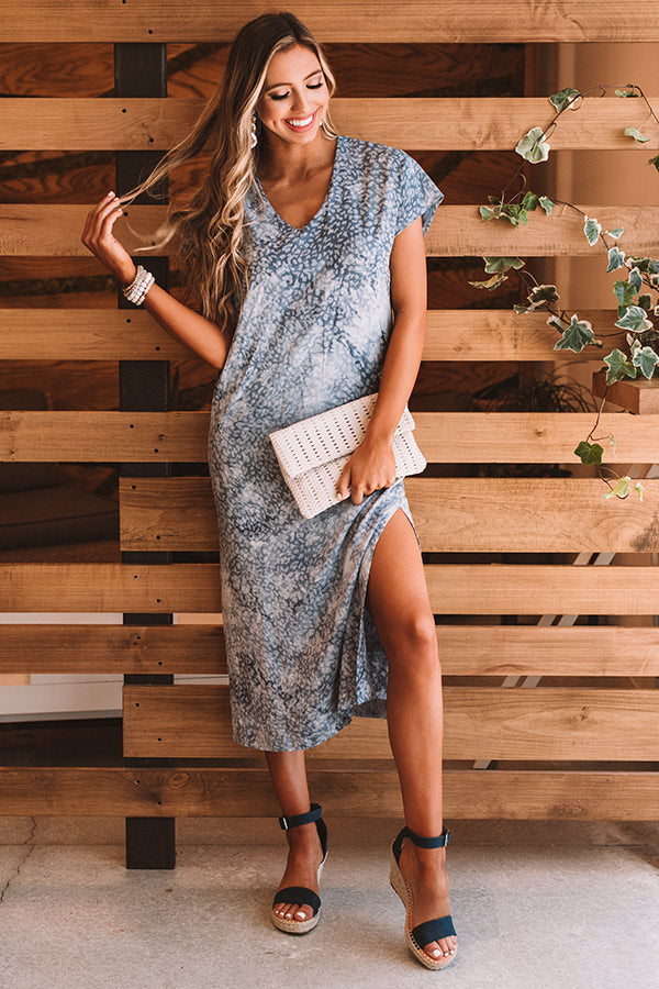 Sweet Rush Maxi In Slate