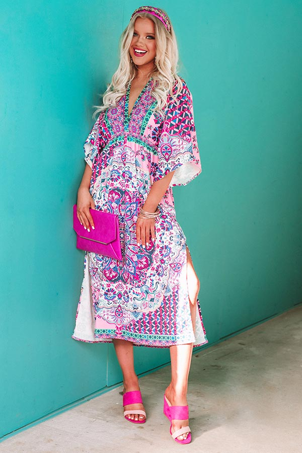 Beachy Muse Midi In Pink