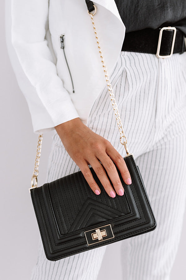 A Moment's Notice Crossbody In Black