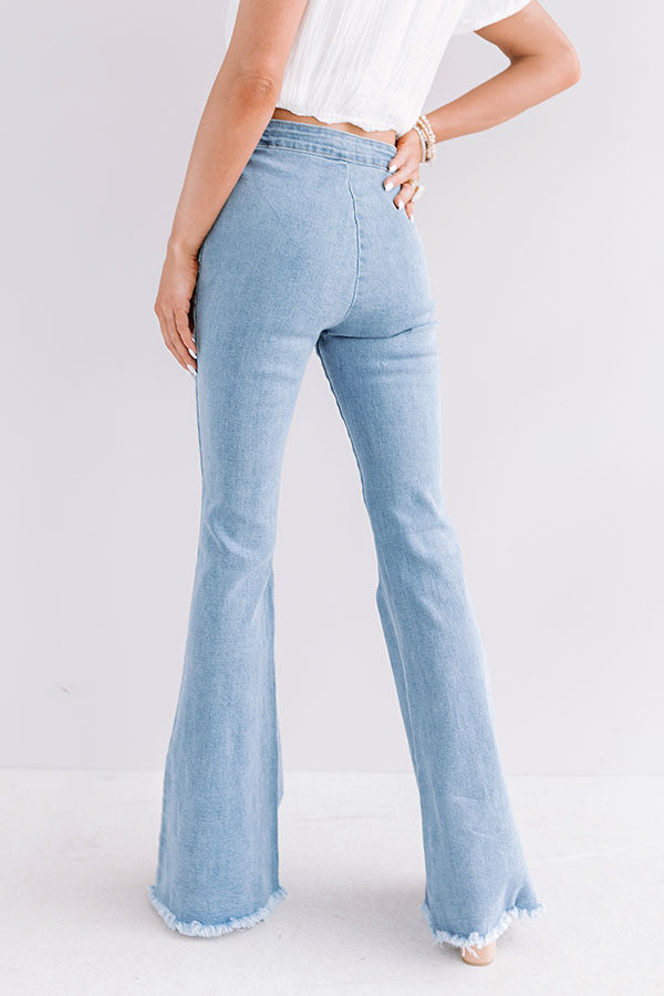 The Nahla High Waist Flares