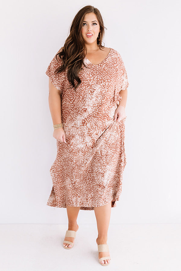 Sweet Rush Maxi In Cinnamon