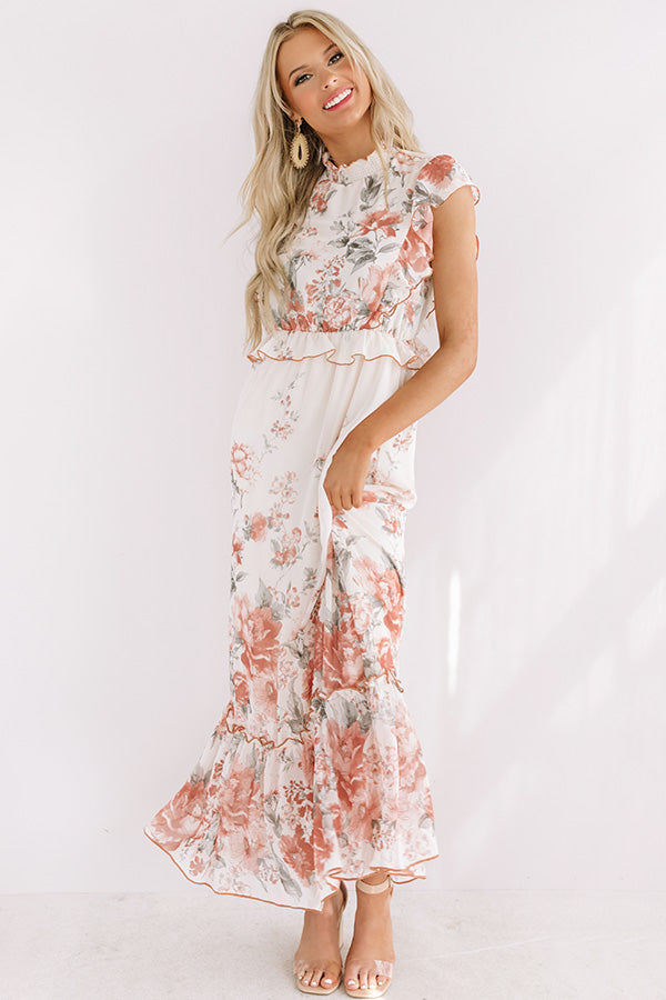 Endless Dreaming Floral Maxi
