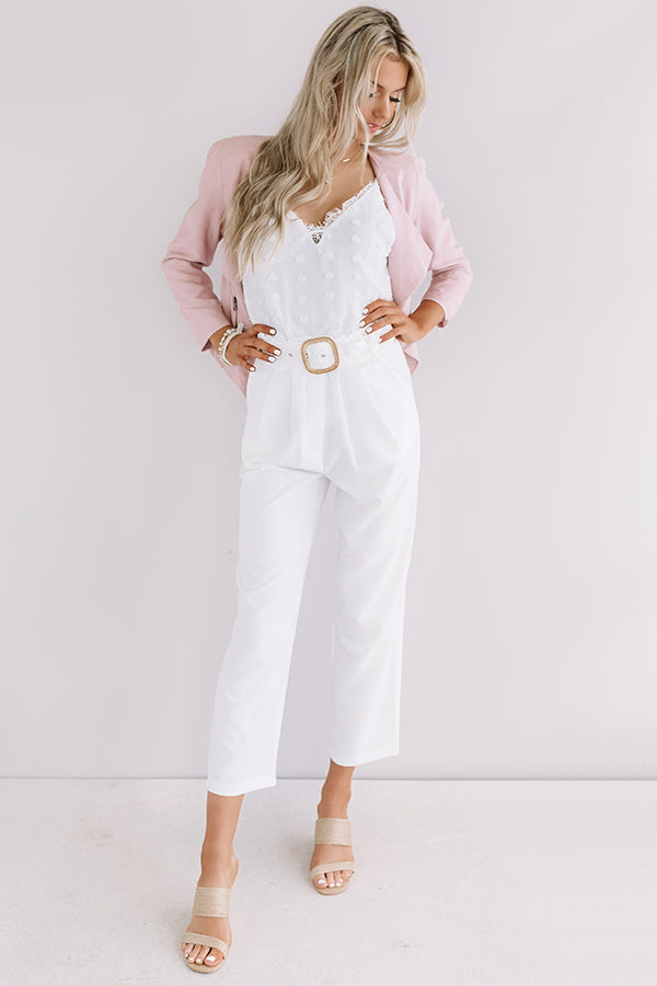 Ceo Material High Waist Trousers