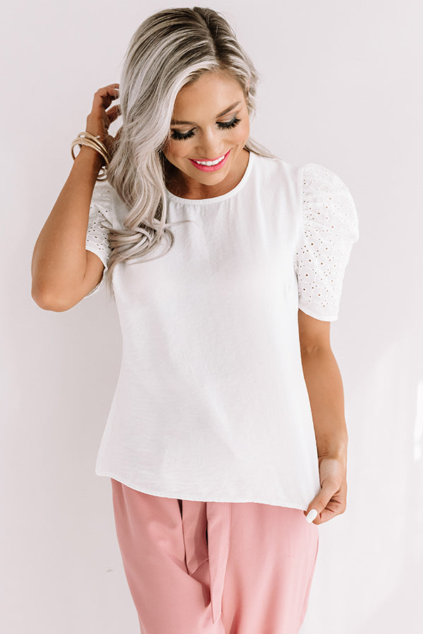Grecian Sights Shift Top