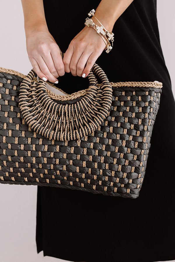 Style Update Woven Tote