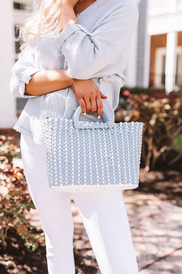 Craving Cabo Woven Tote