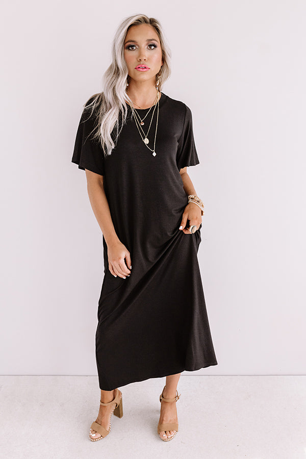 Style Muse Midi In Black
