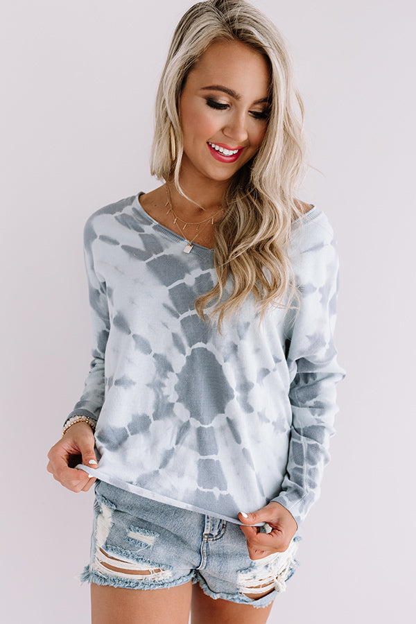 Love To Lounge Tie Dye Sweatshirt
