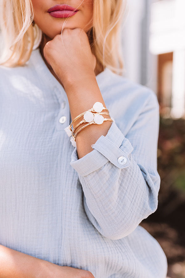 The Melody Bangle Bracelet