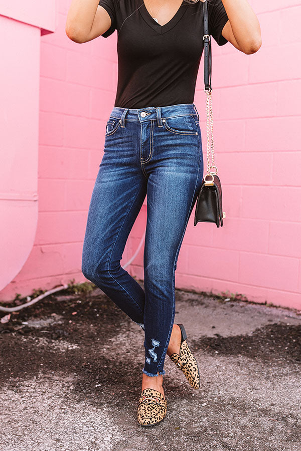 The Romy Midrise Ankle Skinny