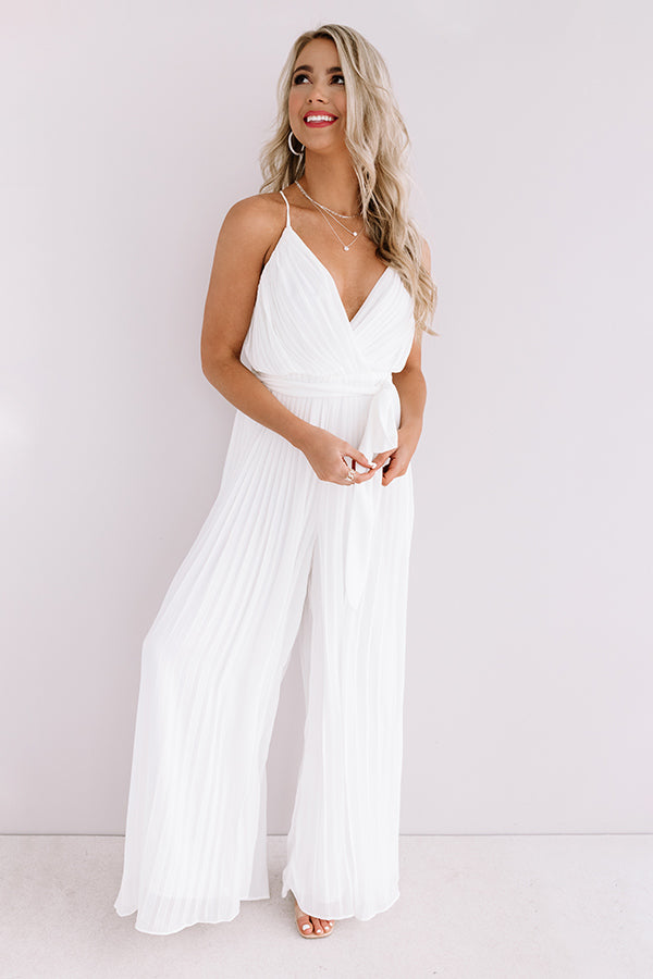 Isle Of Happiness Pleated Jumpsuit