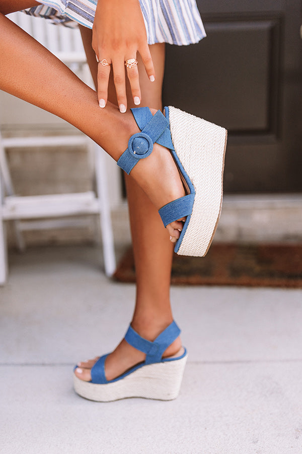 The Bowen Wedge In Blue