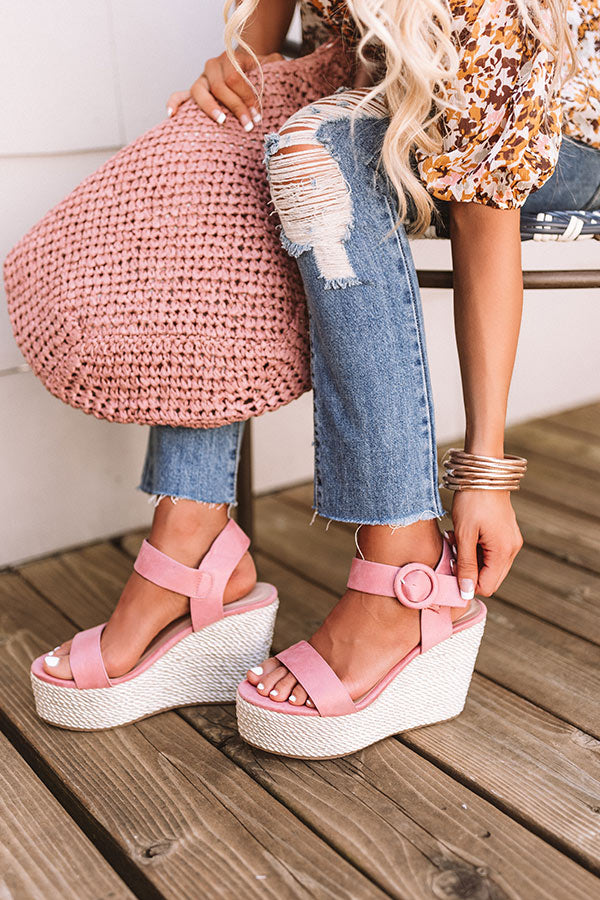 The Bowen Wedge In Blush