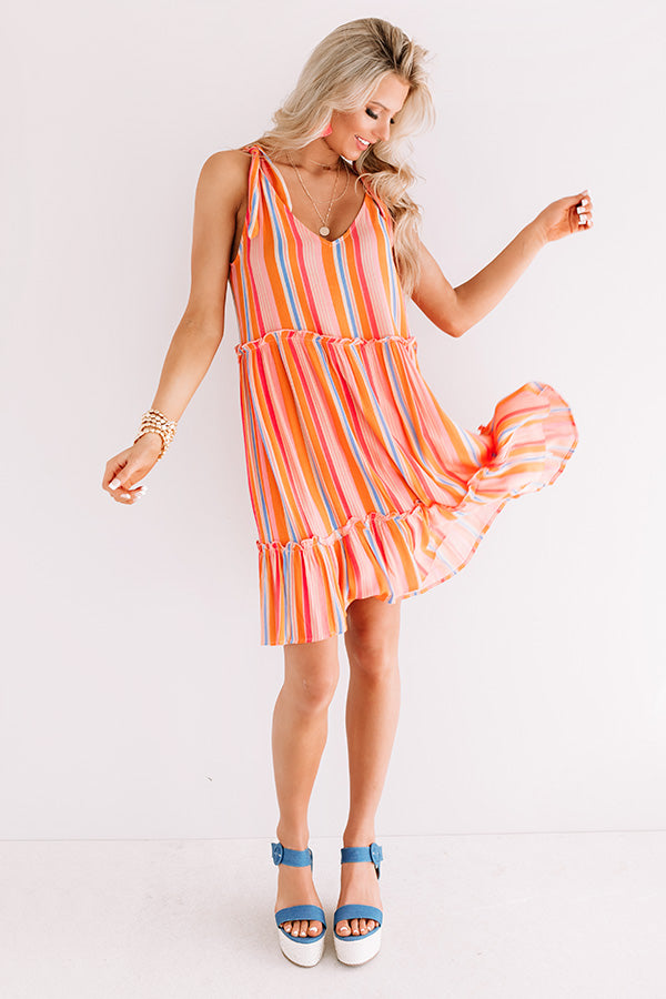 Beachy Vibe Stripe Dress