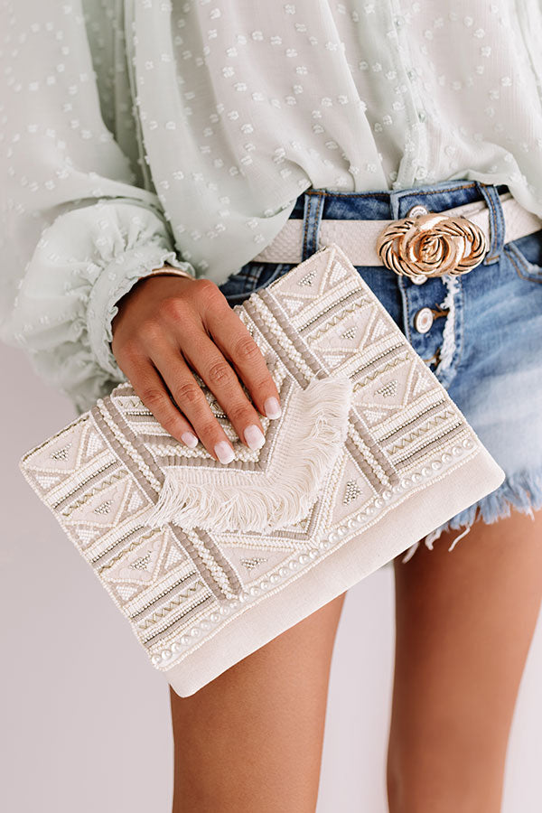 It Girl Approved Embellished Clutch