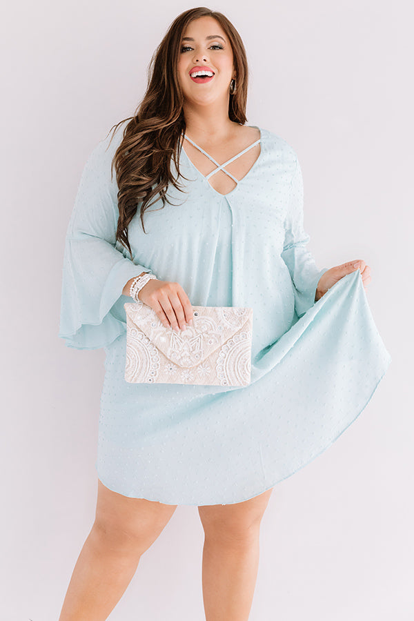 Memory Lane Shift Dress In Mint