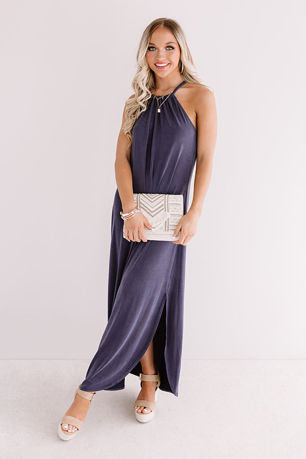 Porch Weather Maxi In Navy