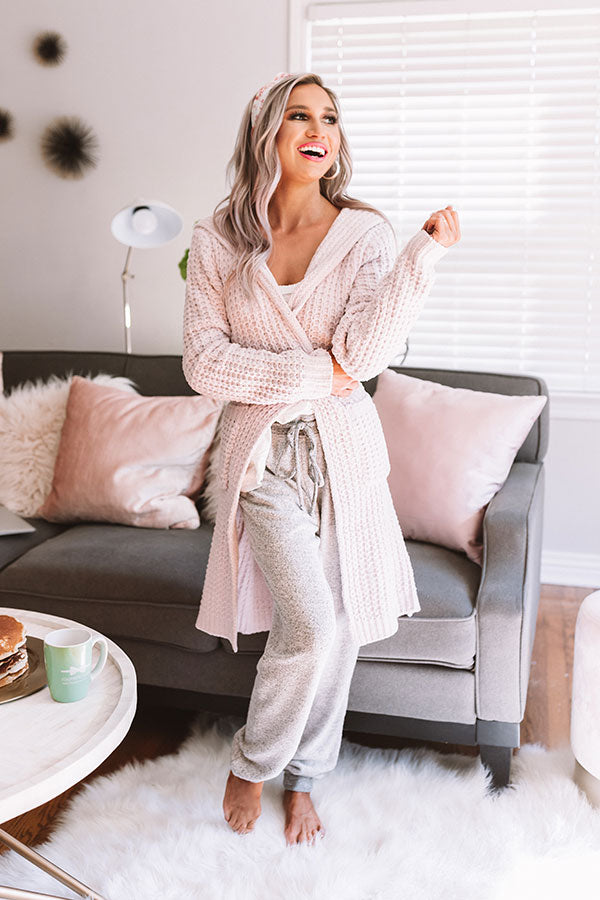 Coffee And Cuddles Chenille Robe