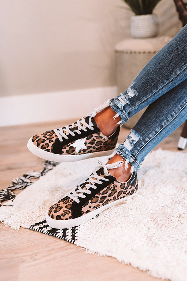 The West Leopard Sneaker