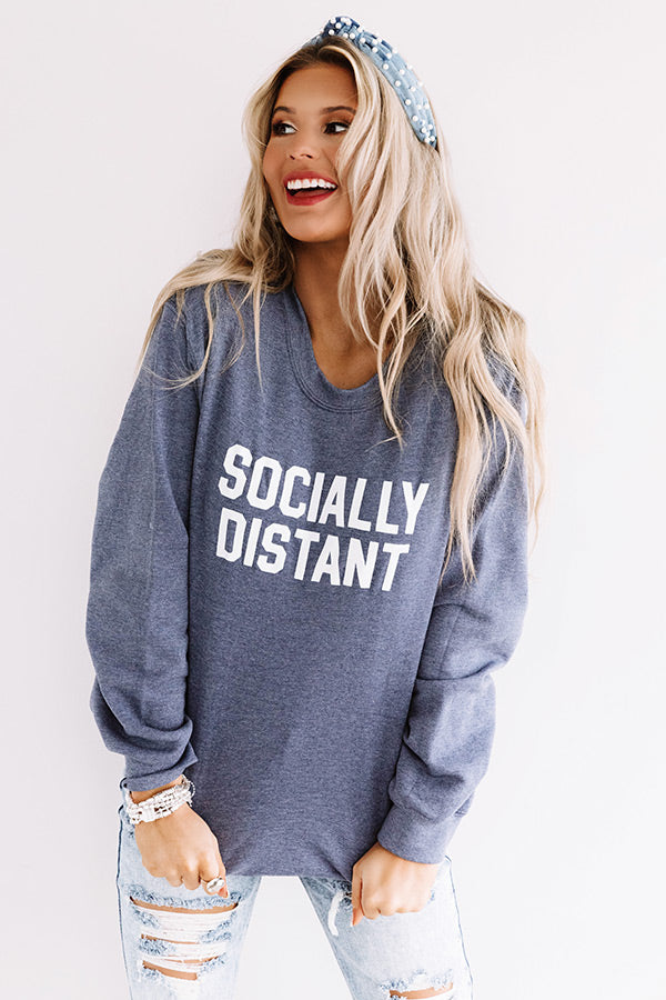 Socially Distant Sweatshirt