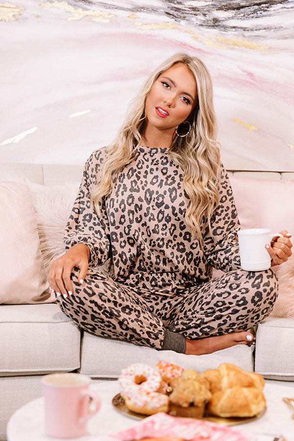 All For Love Leopard Top