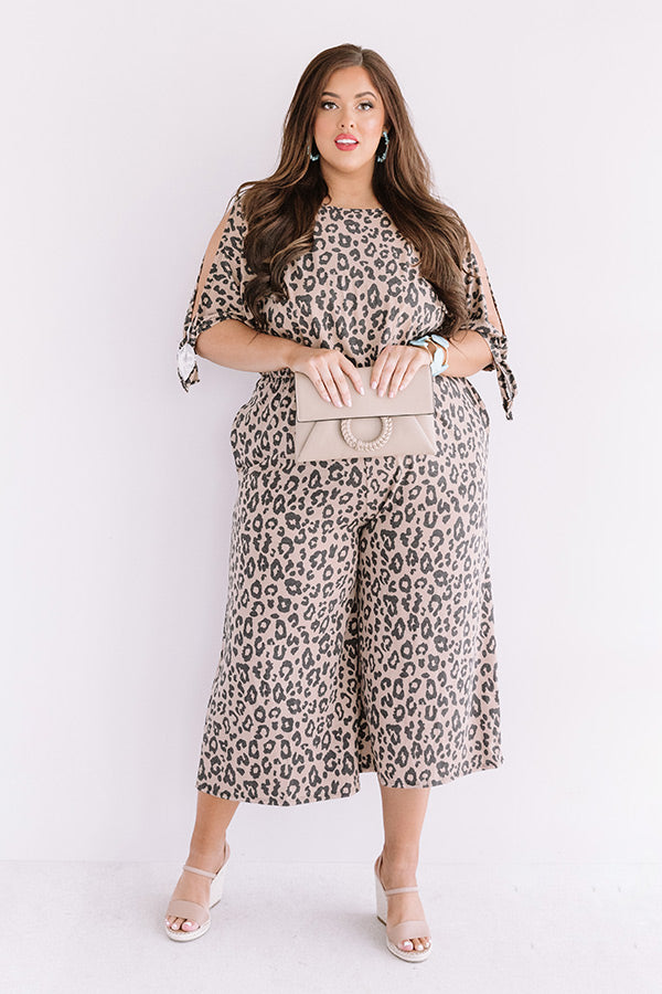 State Of Happiness Leopard Jumpsuit