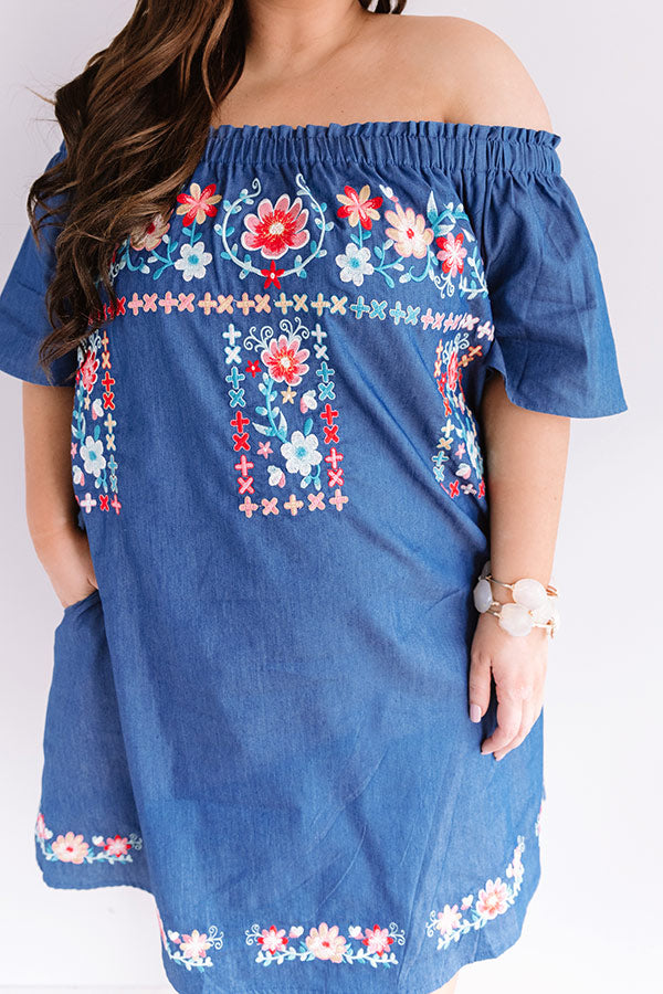 Bliss And Brunch Embroidered Dress