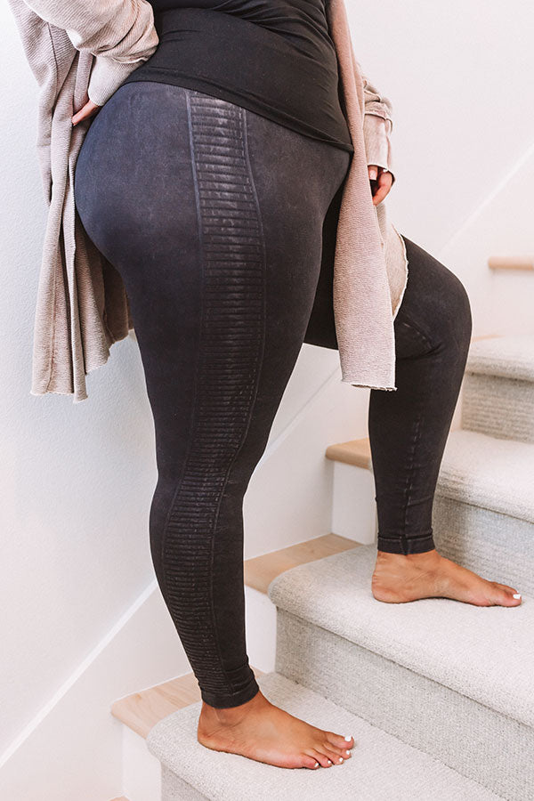Bright And Early High Waist Legging In Black