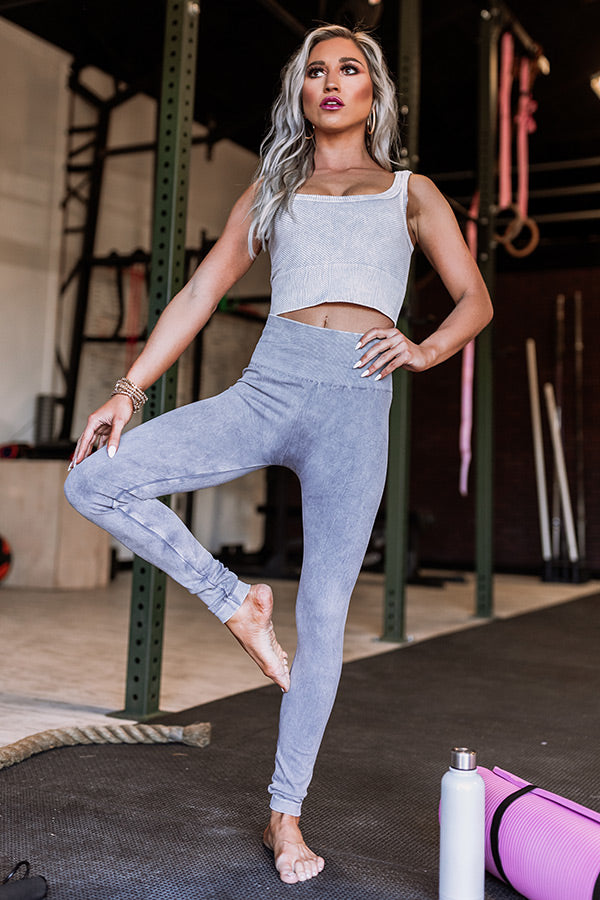 Ready To Relax High Waist Legging in Grey