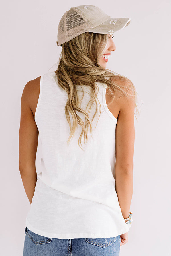 Sol Sister Shift Tank In Ivory