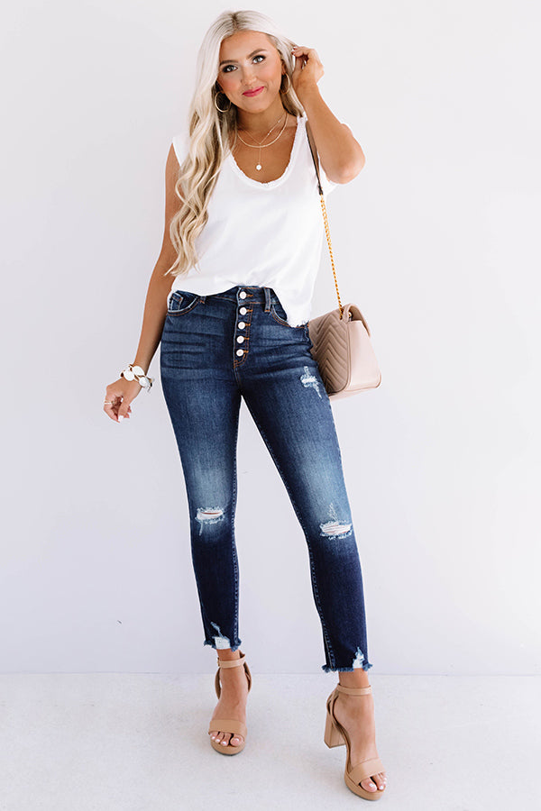 The Primrose High Waist Ankle Skinny