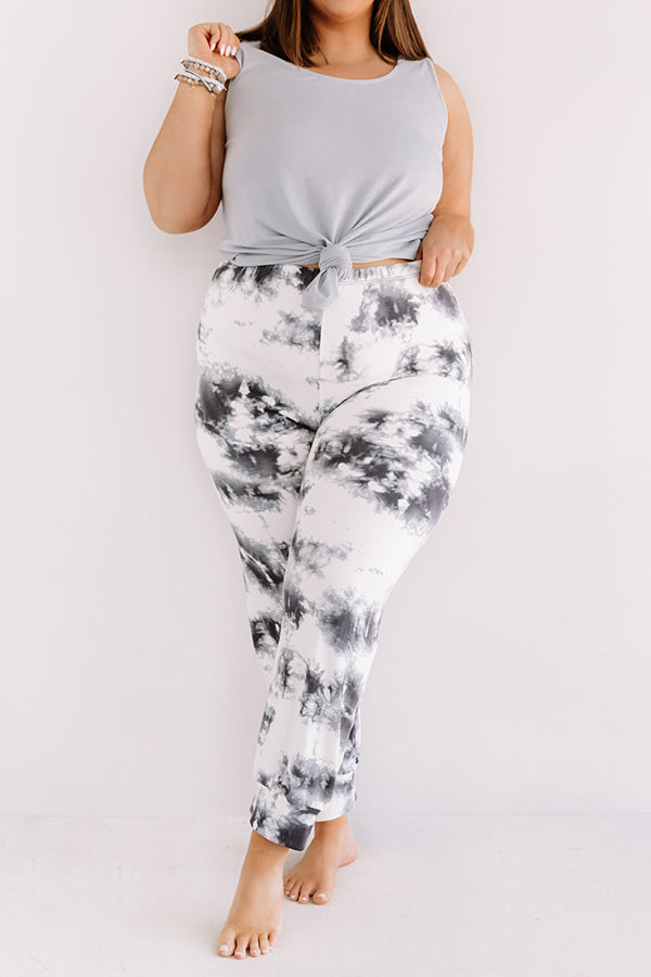 Luck And Lounging Tie Dye Joggers