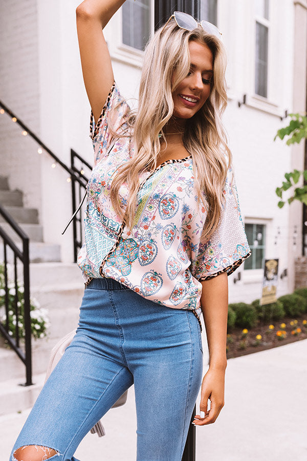 Hamptons Honey Shift Top