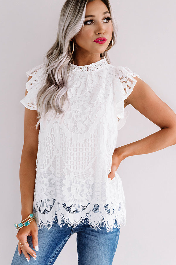 Holding Hands Lace Top