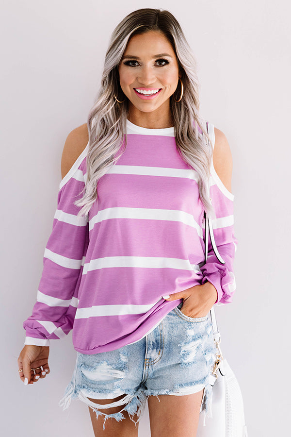 Best In The West Stripe Top