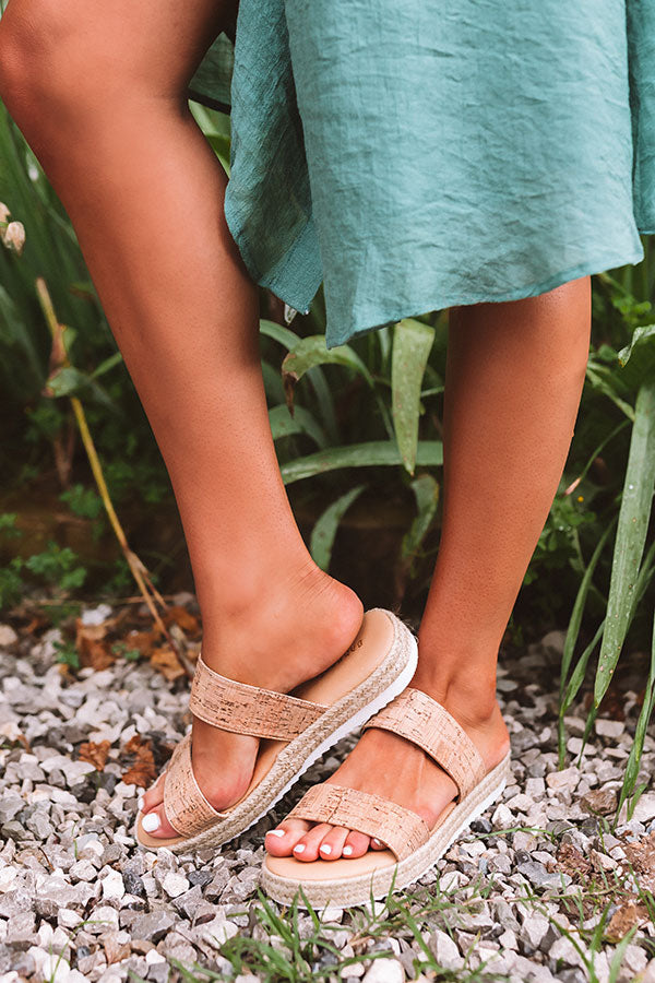 The Avonlea Espadrille In Tan
