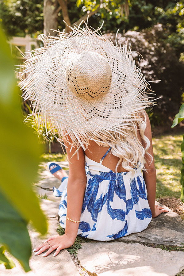 Sunny Situation Straw Hat