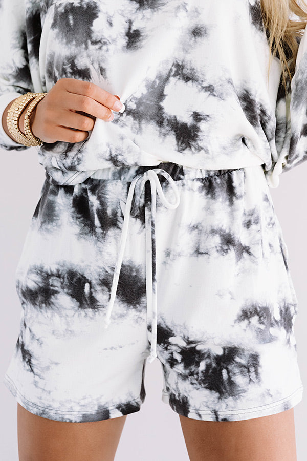 Luck And Lounging Tie Dye Shorts