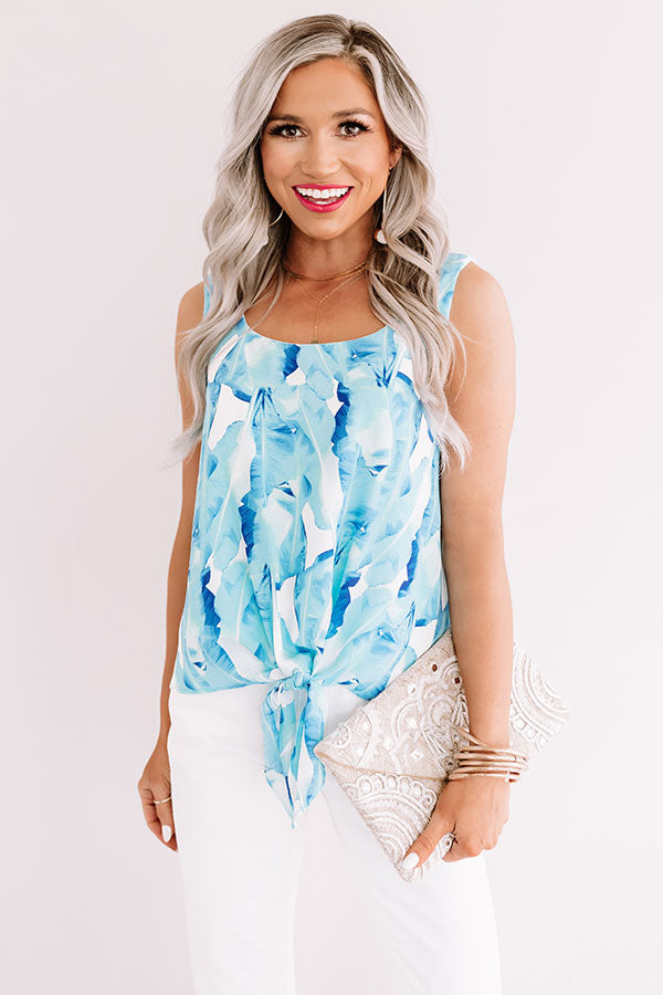 Jetset Situation Floral Top