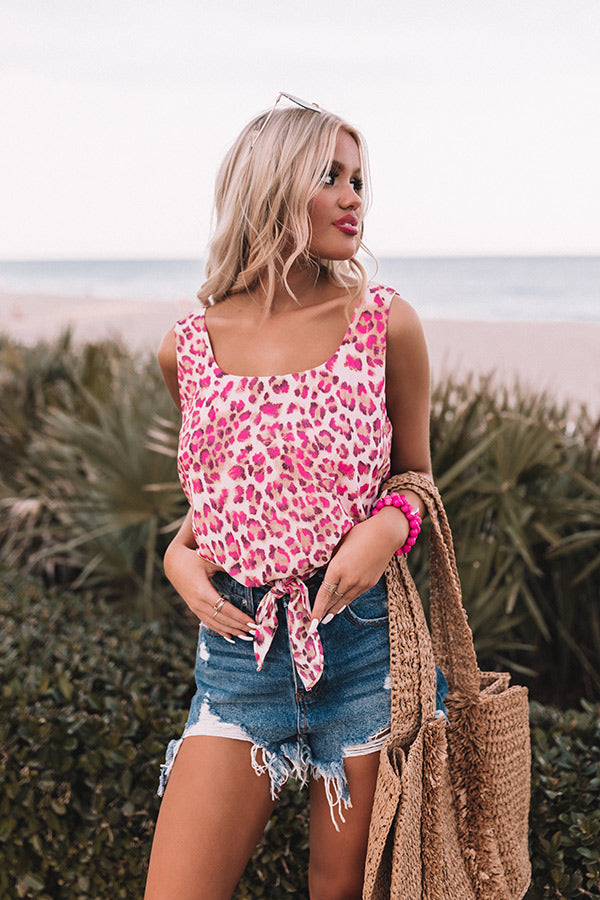 Jetset Situation Leopard Top