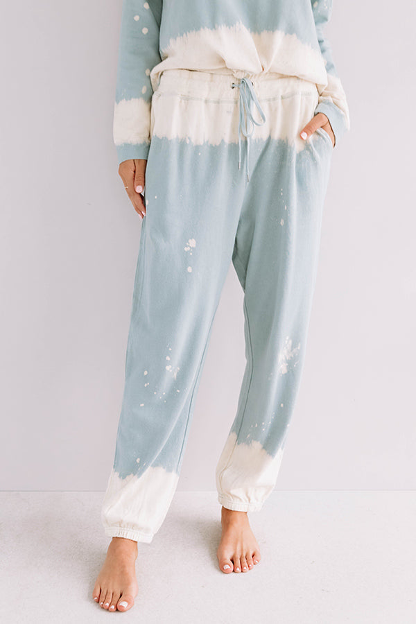 Weekend Snuggles Tie Dye Joggers