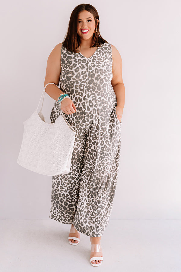 Major Moment Leopard Jumpsuit