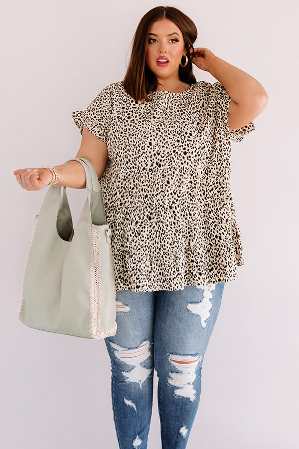 New Crush Leopard Top