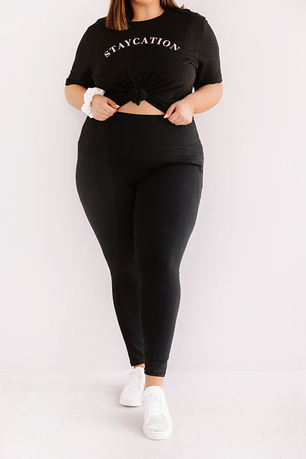 Power Hour High Waist Active Leggings