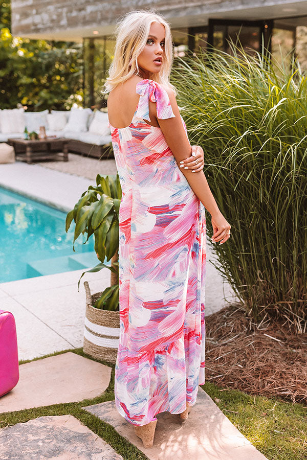 Dreamy Babe Maxi In Pink