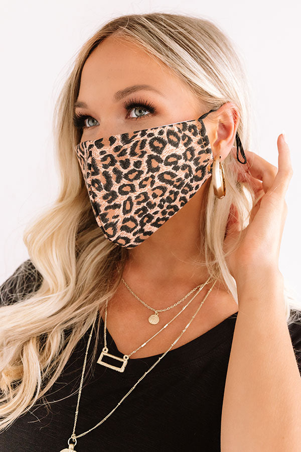 Leopard Forever Cloth Face Mask