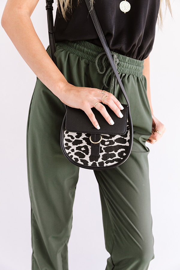 London Lovely Leopard Crossbody